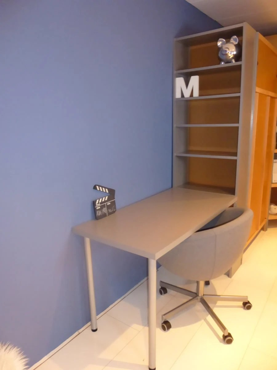 Billy Bookcase Desk: Simple Hacks For A Teen Room