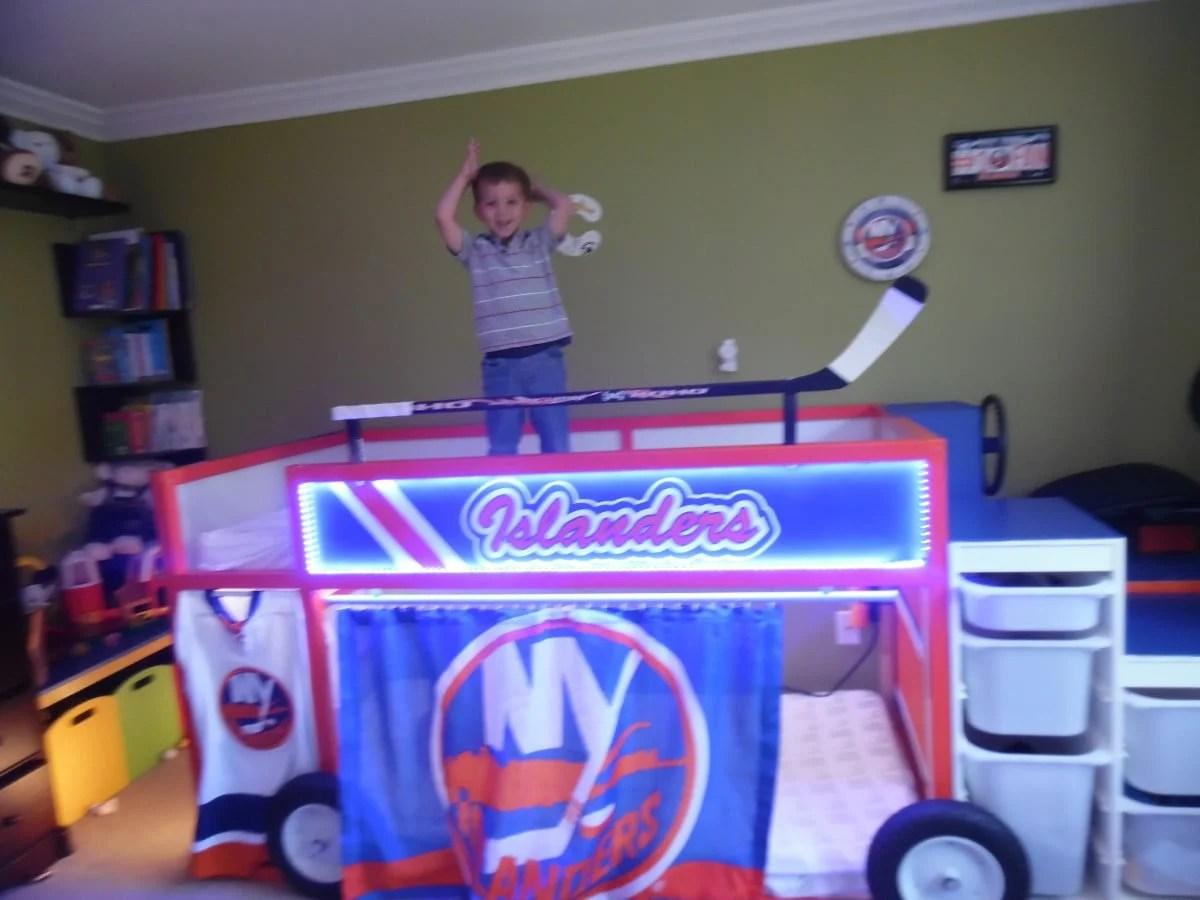 New York Islanders Zamboni Bed Ikea Hackers