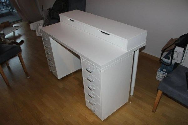 Affordable Ikea Dressing Table Makeup Vanity