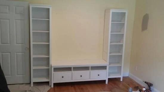 HEMNES entertainment unit