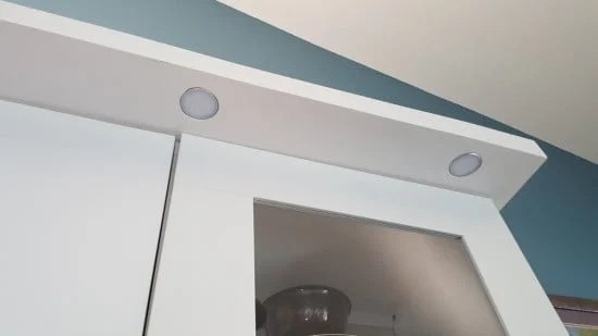 recessed lighting for dining room built in