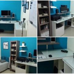Linnmon Desk Hack Desk Drawer Locks Full Size Bed With Desk