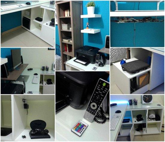 Ikea Kallax Linnmon Desk Hack Ikea Hackers