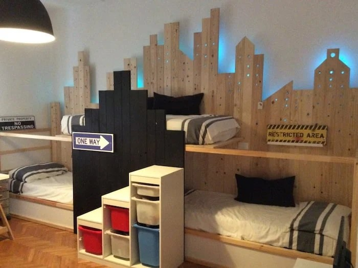 Bunk Beds For 3 In Ikea Kura City