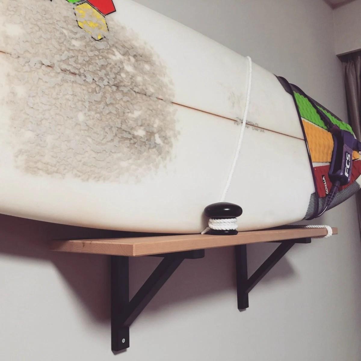 Dock bollard surfboard rack - IKEA Hackers