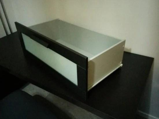 Assemble the BRIMNES drawer