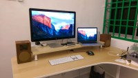 10cm lift Desk Shelf Monitor Stand - IKEA Hackers - IKEA ...