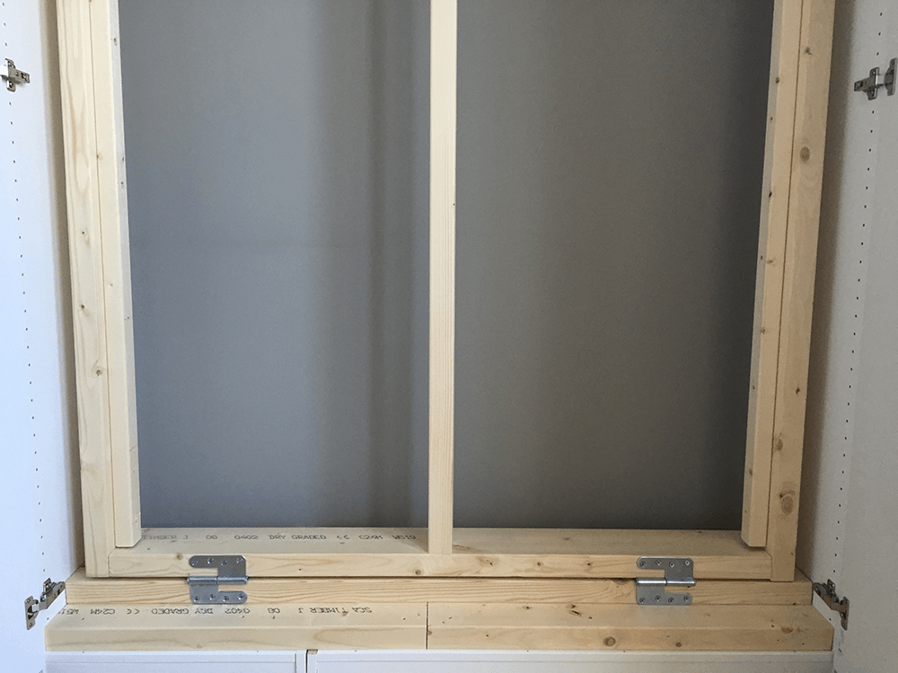 We Hid A Full Size Murphy Bed In Our IKEA Closet IKEA