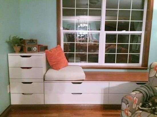 IKEA Stolmen Bench Window Seat Built-in