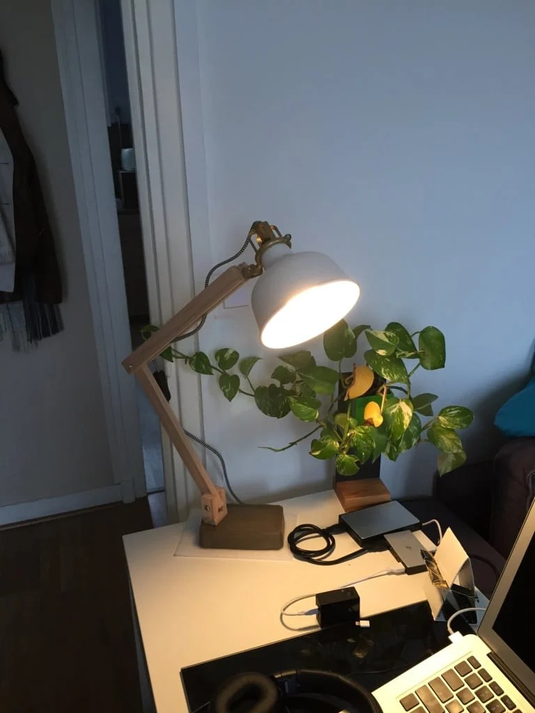Ikea Ranarp Wall Lamp Ikea Ranarp Wood Industrial Desk Lamp - Ikea Hackers