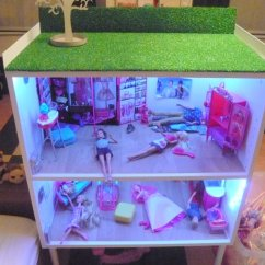 Ikea Dining Table Chair Covers Hanging Lawn Galant Office Cabinets Becomes A Barbie Doll House - Hackers