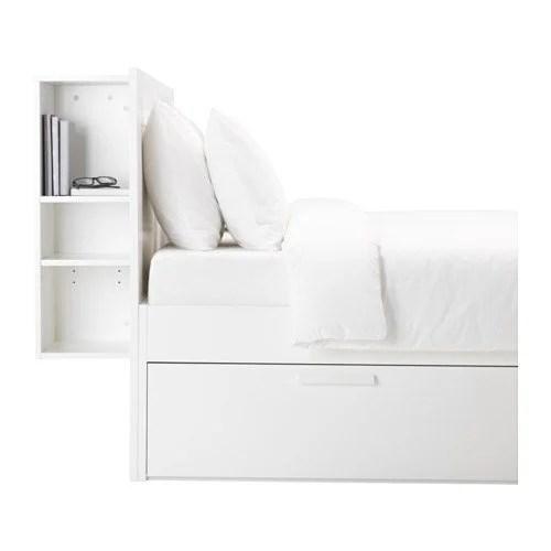 Elegant ikea brimnes headboard with storage headboard white PE S