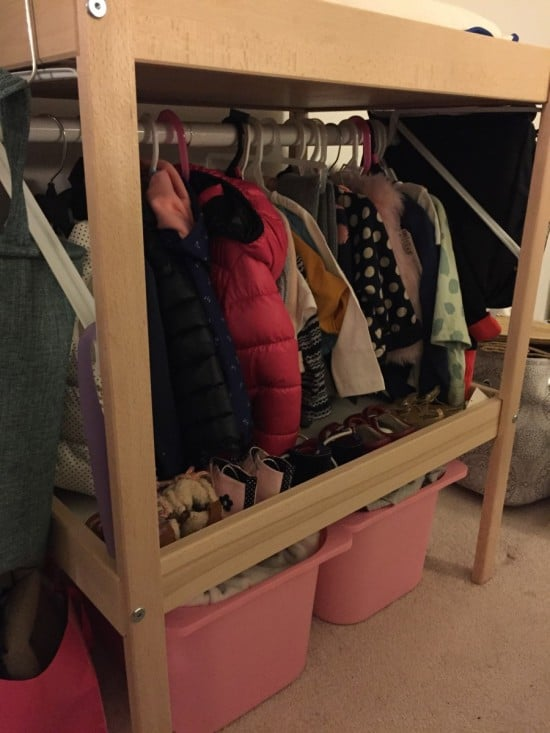 toddler's Mini Closet