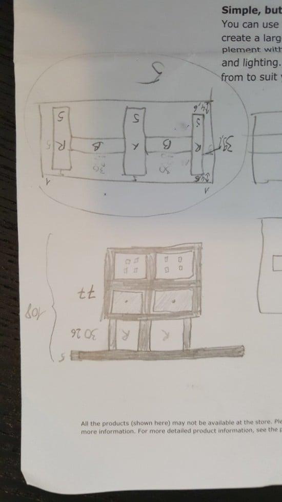 KALLAX bar plan