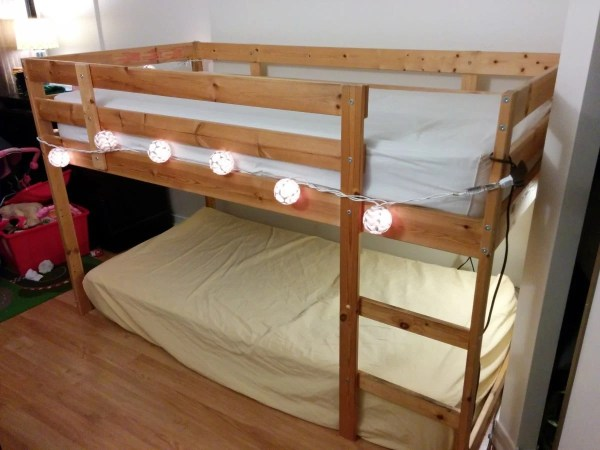 Turn Bed into Bunk Bed Loft