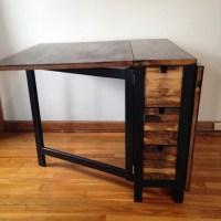 IKEA Norden Gateleg Table goes dark