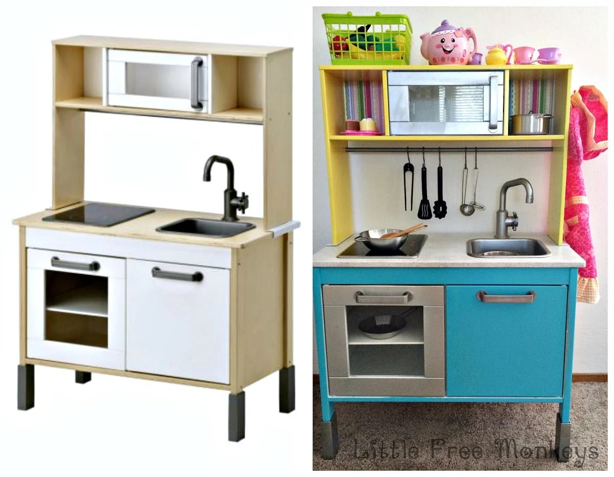 Ikea Duktig Play Kitchen Makeover Ikea Hackers