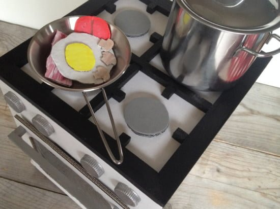 Upcycle Ikea Hektar Boxes Into A Play Stove Ikea Hackers