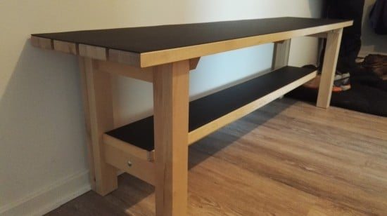 NORDEN bench upgraded for landing space