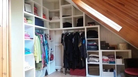 KALLAX corner wardrobe