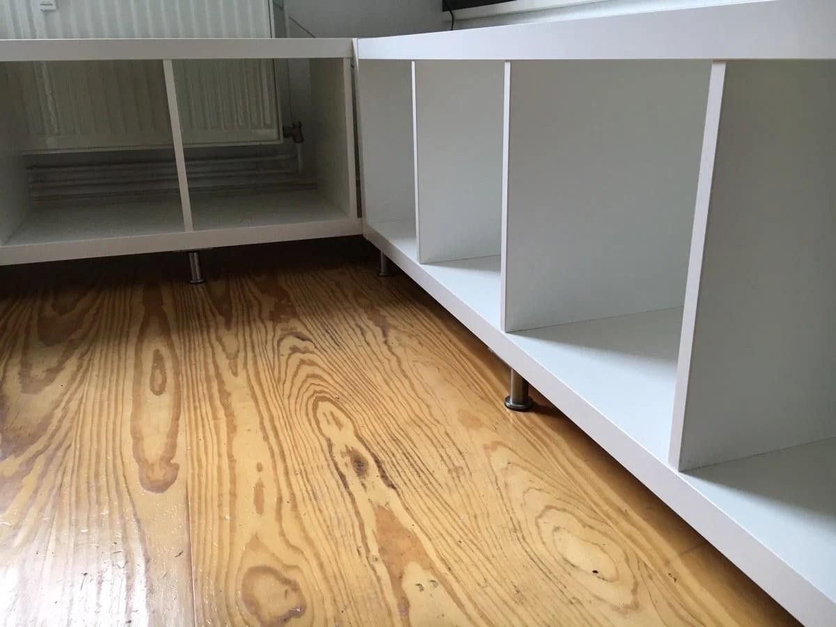 ikea kallax kitchen corner seat ikea hackers. Black Bedroom Furniture Sets. Home Design Ideas