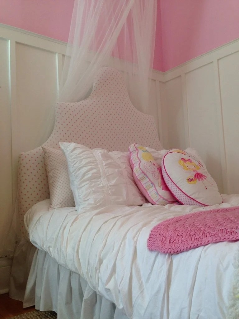 Nice From plain IKEA Fjellse bed to dreamy princess bed