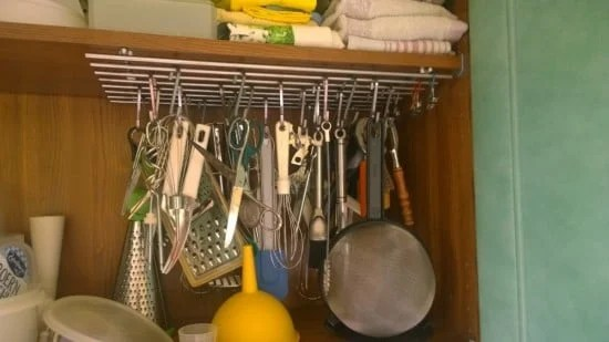 kitchen tool organiser