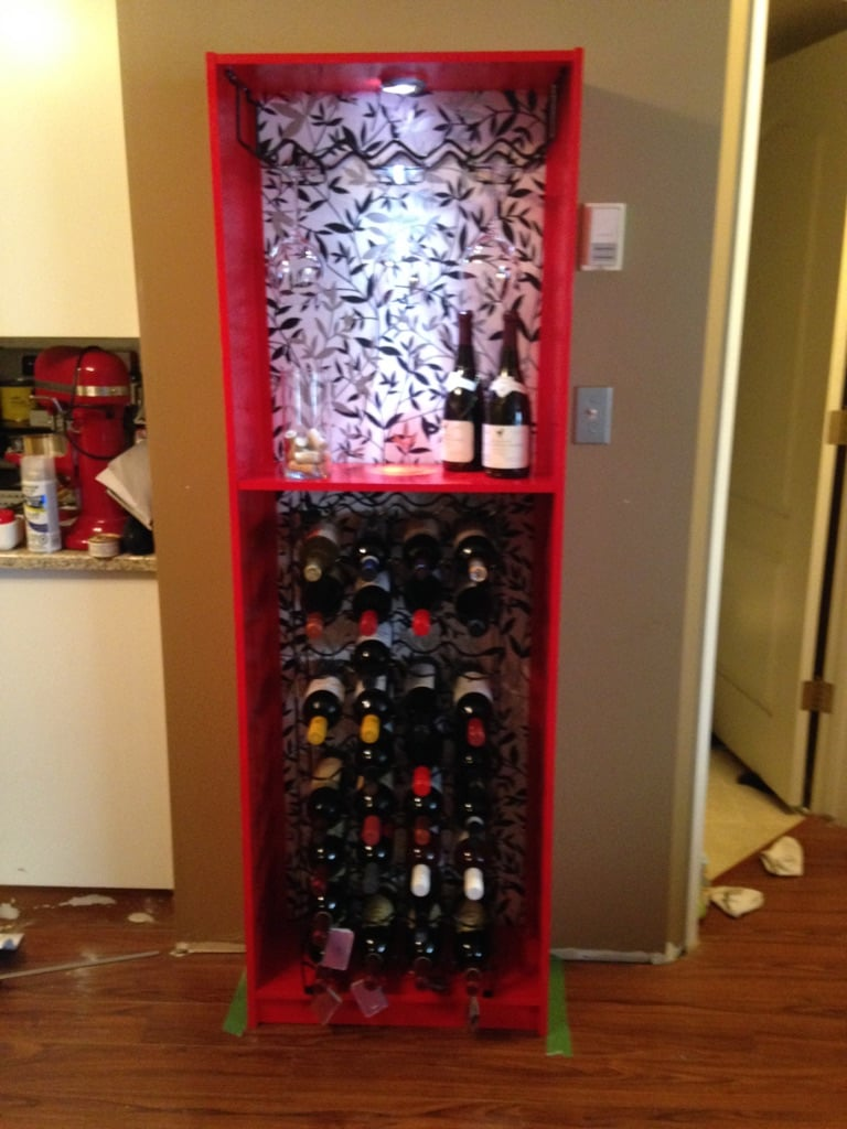 Gersby Bookcase To Wine Rack Ikea Hackers
