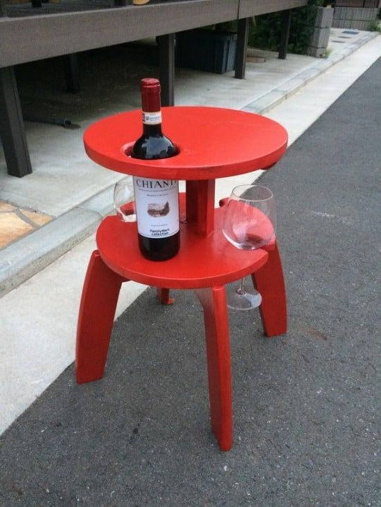 Frosta wine table