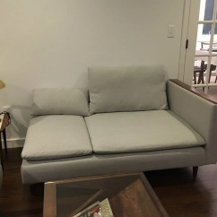 One Seat Sofa With Chaise Pink Voucher Code Mid-century SÖderhamn - Ikea Hackers