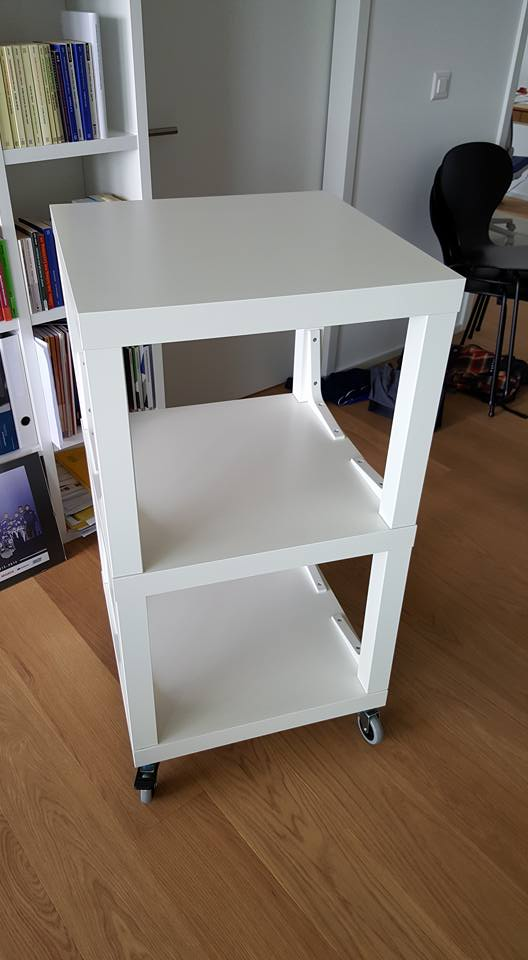 Lack Hifi Rack Ikea Hackers