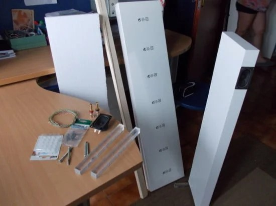 speaker material