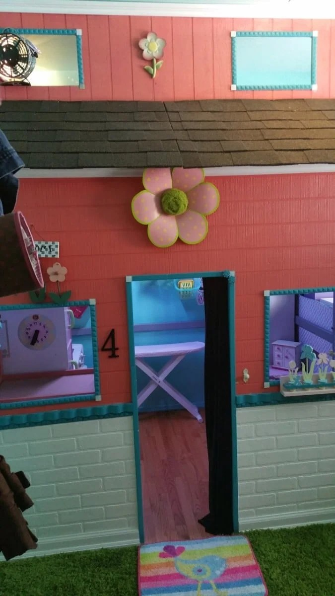 Floor To Ceiling Kids Playhouse Under Ikea Loft Bed Ikea