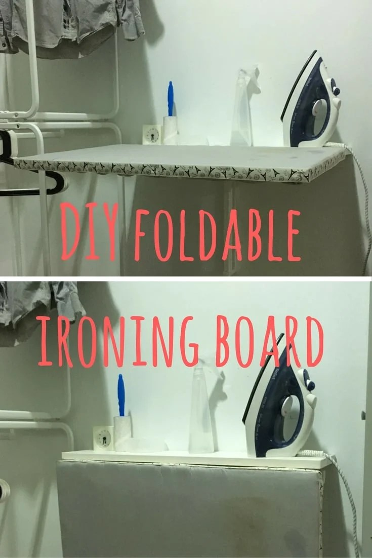 A Space Saving Diy Ironing Board Ikea Hackers