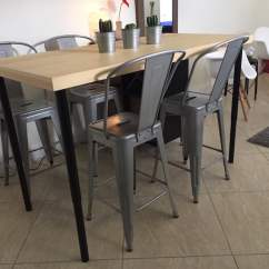 Kitchen Island Table Ikea Commercial Floor Cleaning Dining Hackers