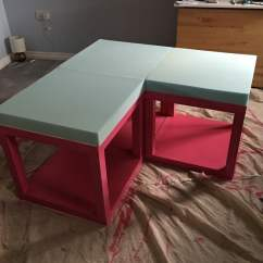 Ikea Jules Chair Covers And Sashes Lack Tables Hacked Into Corner Couch Under Loft Bed - Hackers