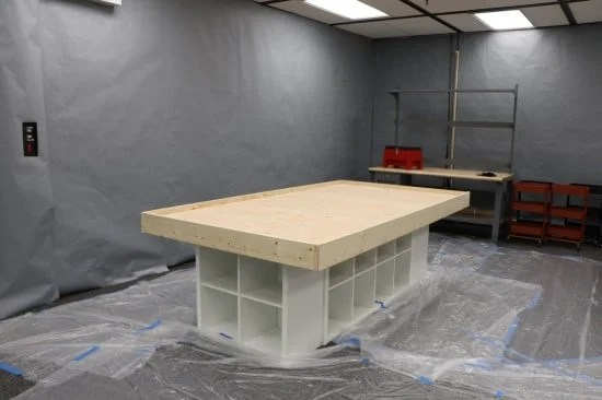 Maker space table