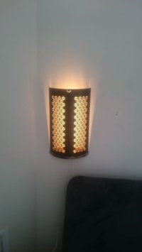 Elegant sconces from IKEA STABBIG lantern and DIODER LED ...