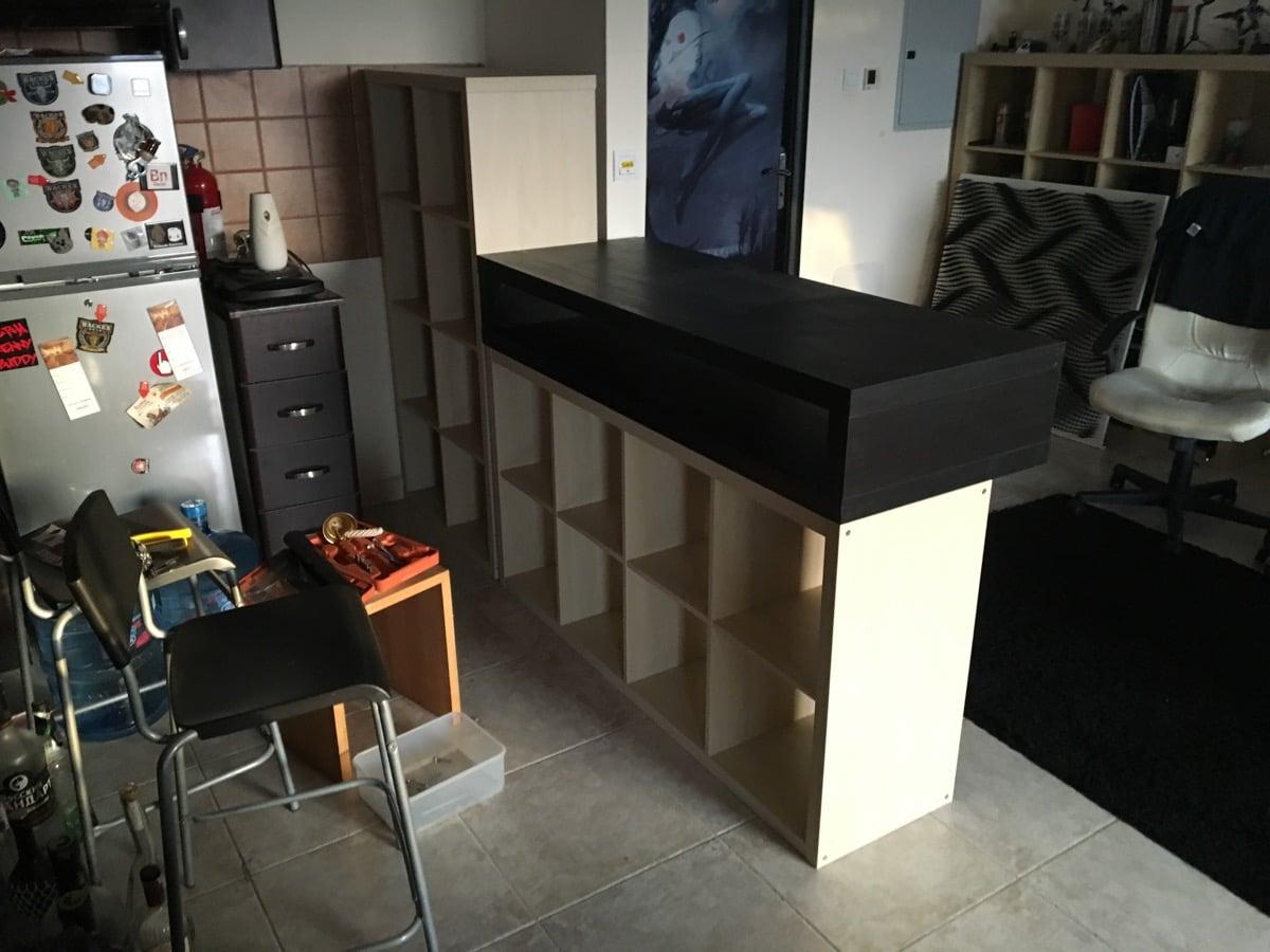 Black Metal Bar Ikea Hackers