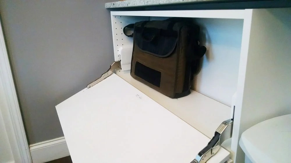 IKEA SEKTION cabinets become a storage console  IKEA Hackers