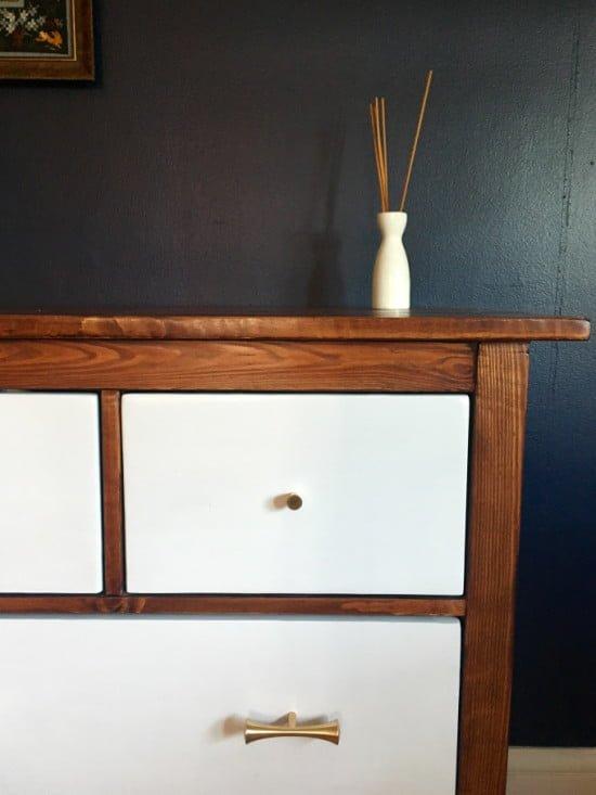 IKEA Hemnes Dresser Turned Mid-Century Modern