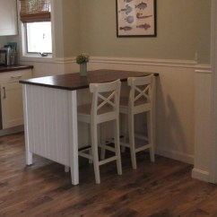 Kitchen Islands Ikea How Much For Cabinets Coastal Makeover Stenstorp Island Hackers 3