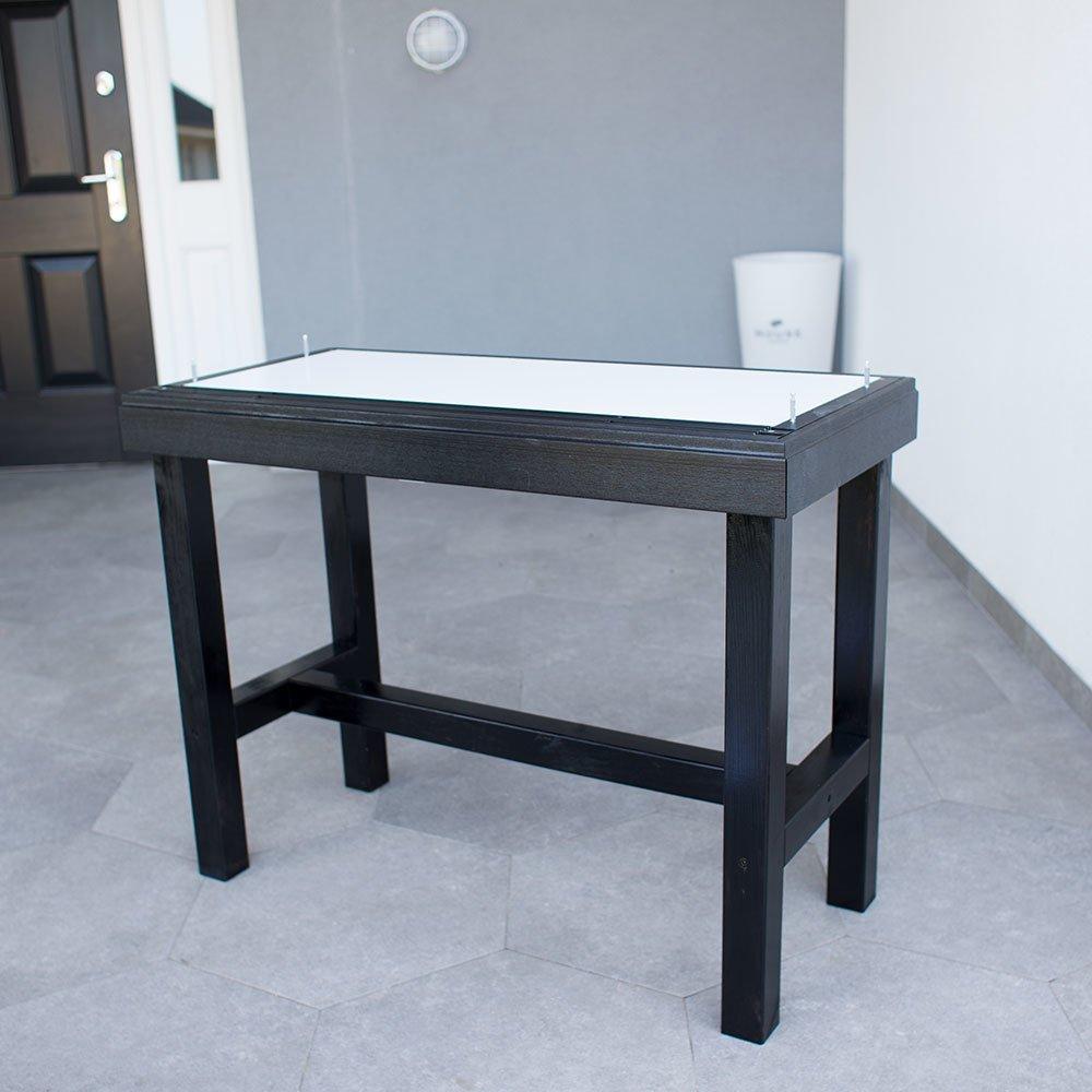 Upgrade IKEA MALSJO to elegant tall glass cabinet - IKEA Hackers