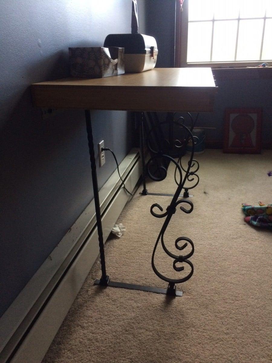 Lill 197 Sen Bamboo Desk Redo Ikea Hackers