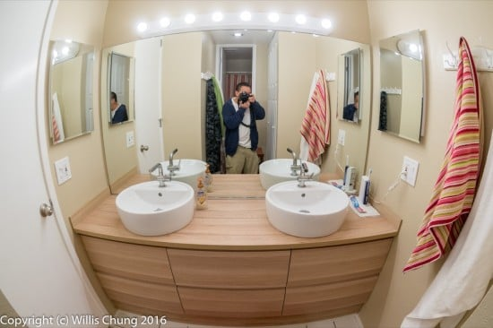 IKEA Godmorgon bathroom remodel - after