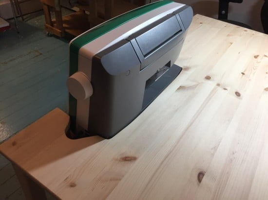 Ikea INGO To Sewing Table with Storage