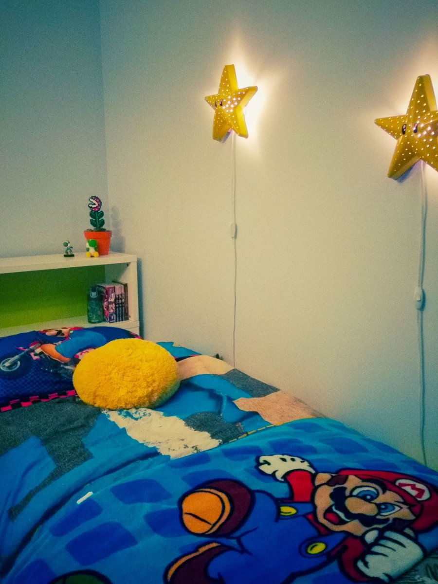 Make A Super Mario Bros Star Wall Lamp Ikea Hackers