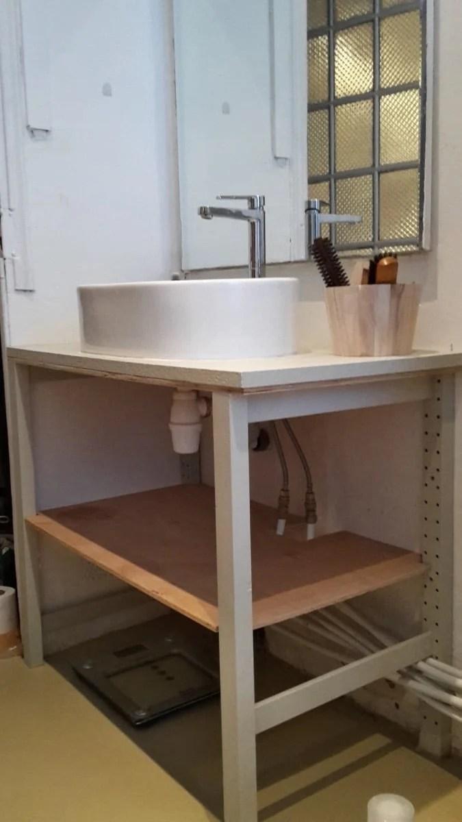 ivar for the bathroom ikea hackers. Black Bedroom Furniture Sets. Home Design Ideas