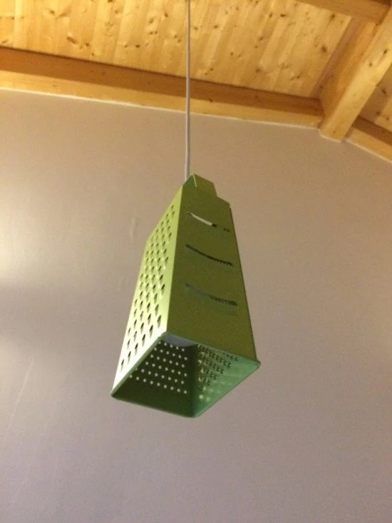 Make this unusual lamp for your kitchen