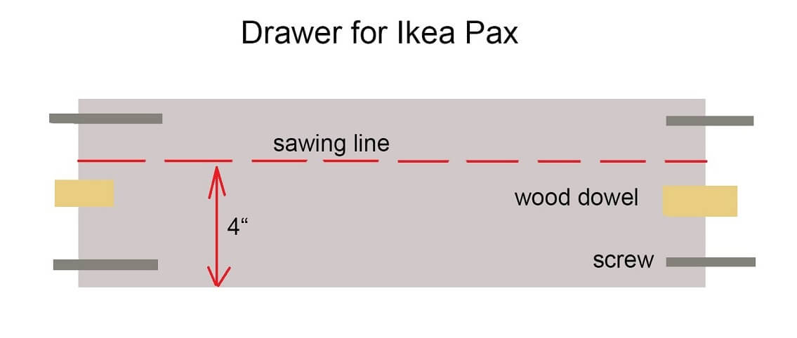 ikea pax as 4 door craft and sewing cabinet ikea hackers. Black Bedroom Furniture Sets. Home Design Ideas